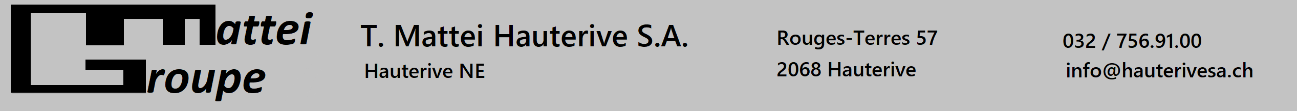 Garage Hauterive SA